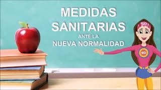Medidas sanitarias para el regreso a clases seguro ciclo escolar 2021-2022